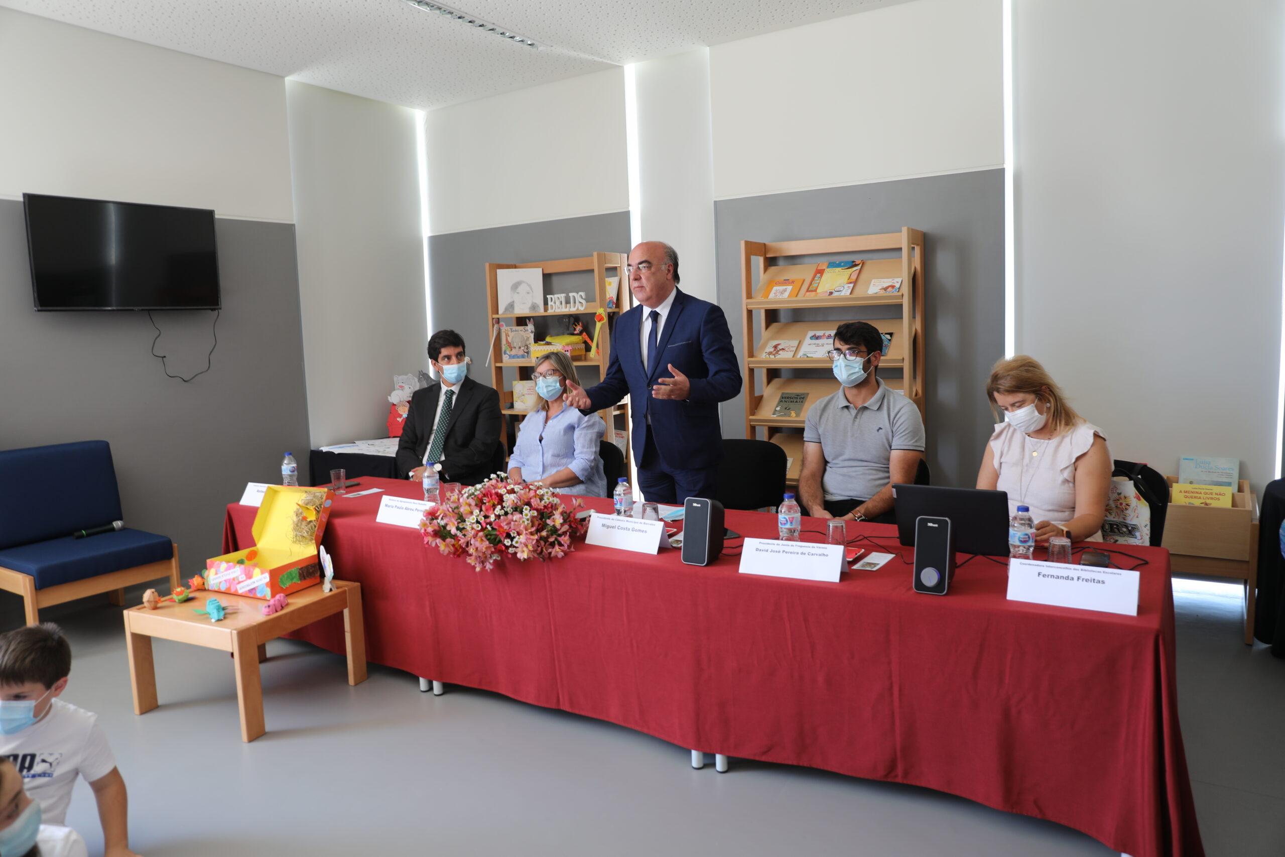 Barcelos inaugura biblioteca escolar do Centro Escolar da Várzea