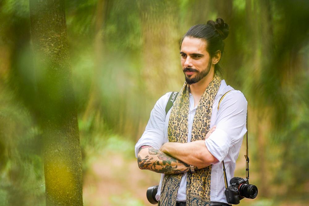 Gonçalo Delgado vende prémio internacional de fotojornalismo