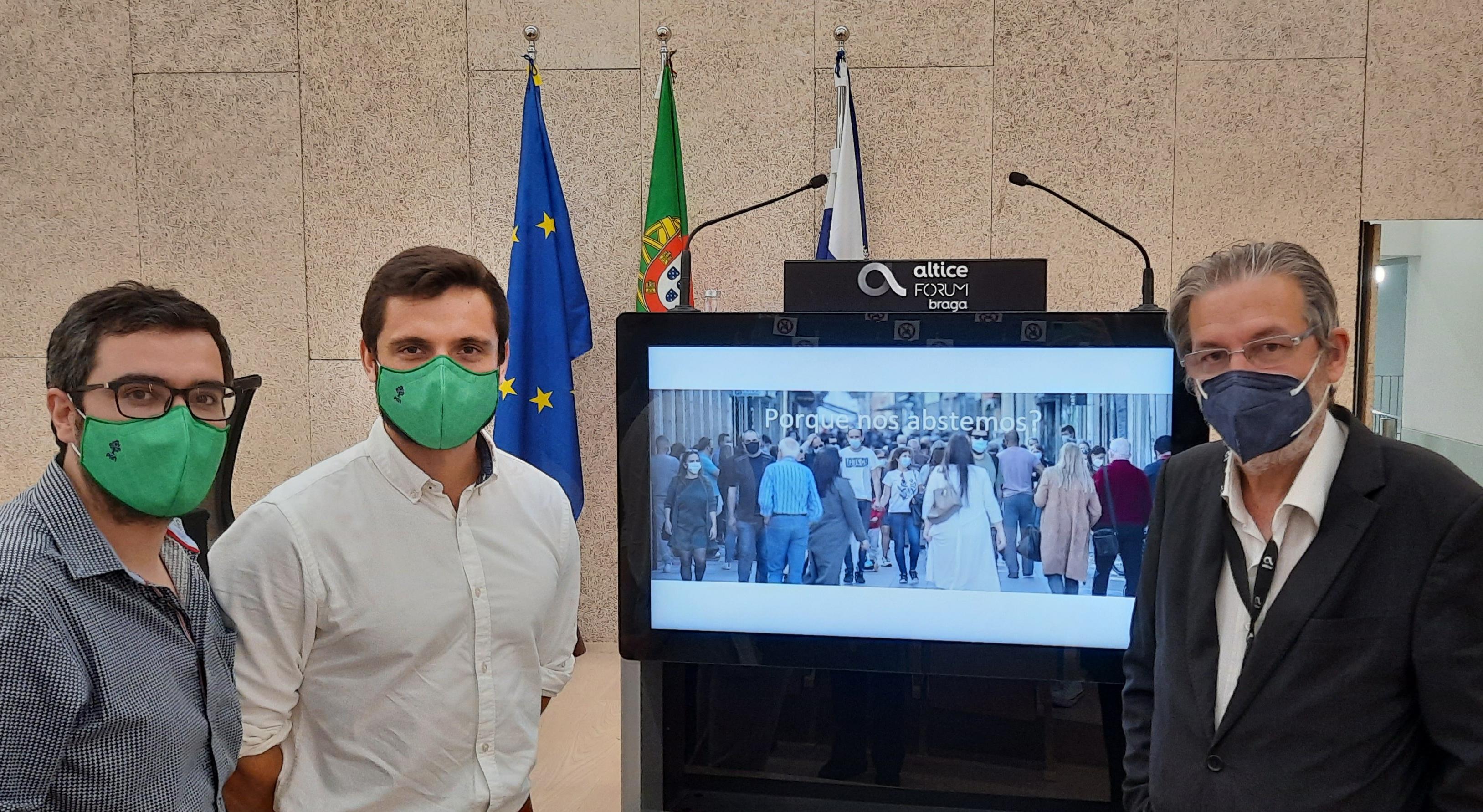 """PAN Braga subscreve manifesto contra abstenção em nome de reforma de sistema eleitoral """"enviesado"""""""