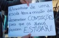 """Alunos de escola de Braga retomam """"luta antiga"""" contra """"péssimas condições"""""""