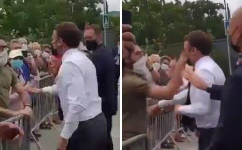 França. Homem que deu bofetada a Macron condenado a quatro meses de prisão
