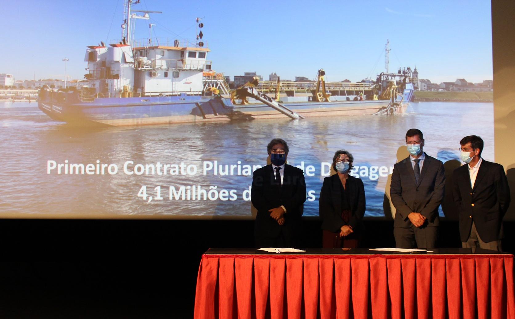Governo liberta mais de 4 milhões em dragagens nos portos de Esposende, Âncora, Póvoa de Varzim e Vila do Conde