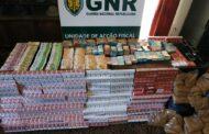 GNR Braga em mega-operação de desmantelamento de rede ibérica de tráfico de tabaco