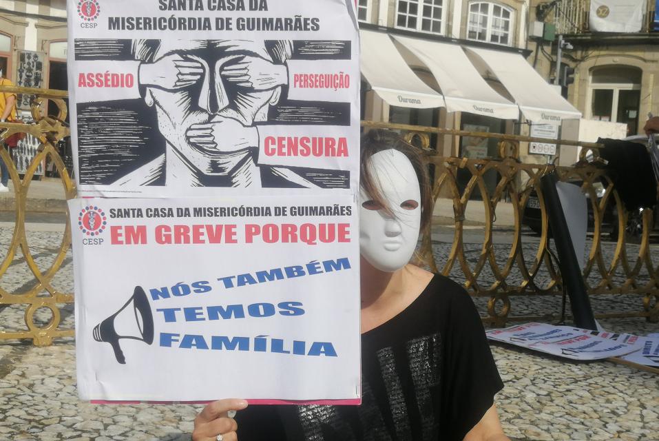 Os Verdes querem divulgação de documentos sobre condições de trabalho na Santa Casa de Guimarães