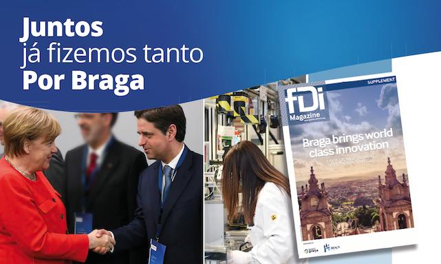 """Autárquicas. 'Juntos por Braga' lança outdoors e jornal para mostrar """"trabalho realizado"""""""