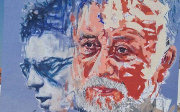 """Cerveira, a Vila das Artes', homenageia """"o eterno mestre dos inquietos"""" com pintura mural"""