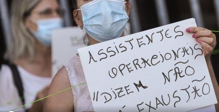 Assistentes operacionais do bloco operatório do Hospital de Braga em greve este sábado e domingo