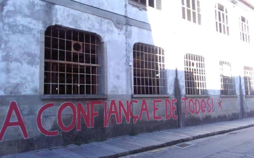 Plataforma quer que Câmara de Braga troque projectos entre Fábrica Confiança e Escola Francisco Sanches