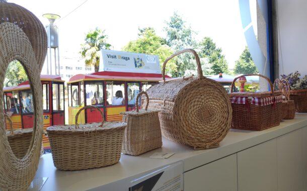 Posto de Turismo de Braga acolhe exposição de cestaria (até 22 AGO)