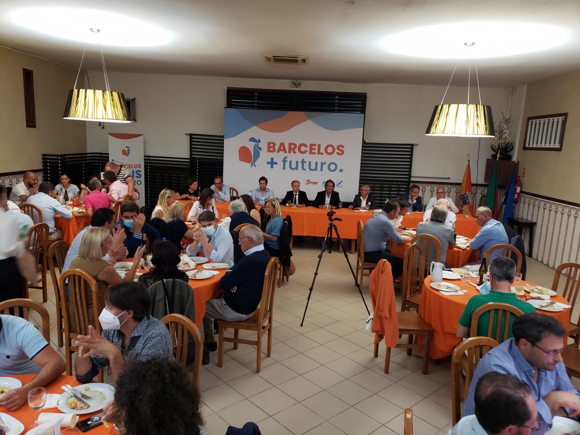 Autárquicas. Coligação Barcelos Mais Futuro parte para as eleições para ganhar a Câmara ao PS