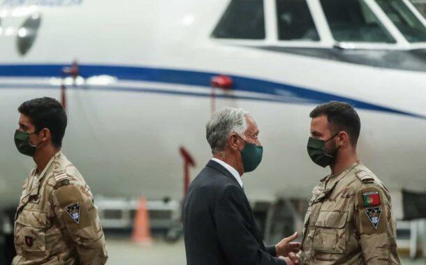 """""""Exigiu coragem"""" e """"Portugal sai de cabeça erguida"""" do Afeganistão"""