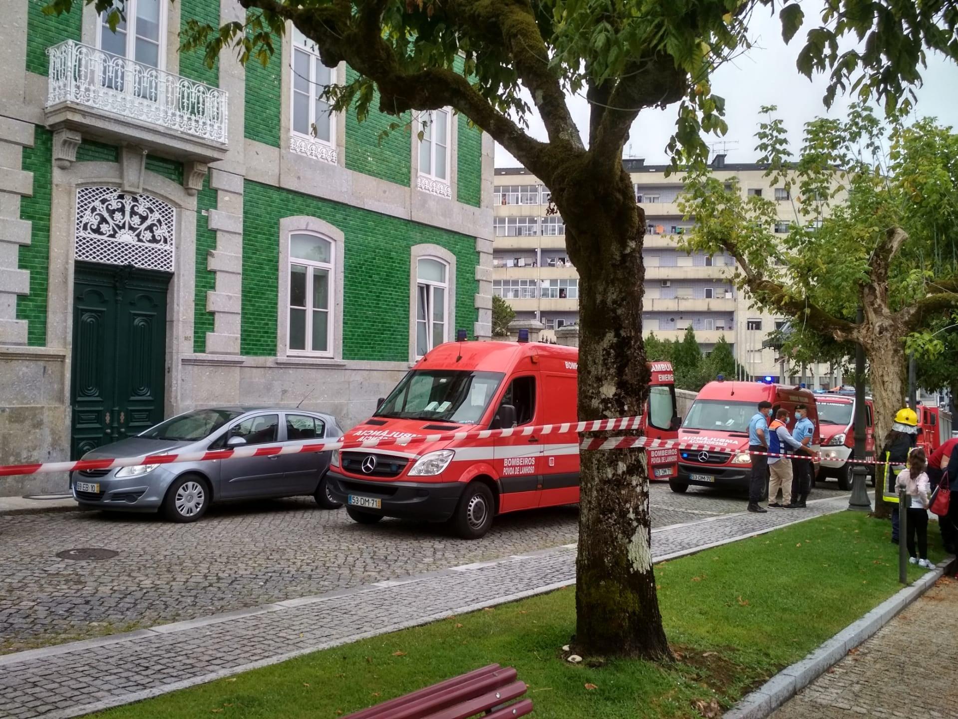 Três feridos em explosão no exterior de lar da Póvoa de Lanhoso