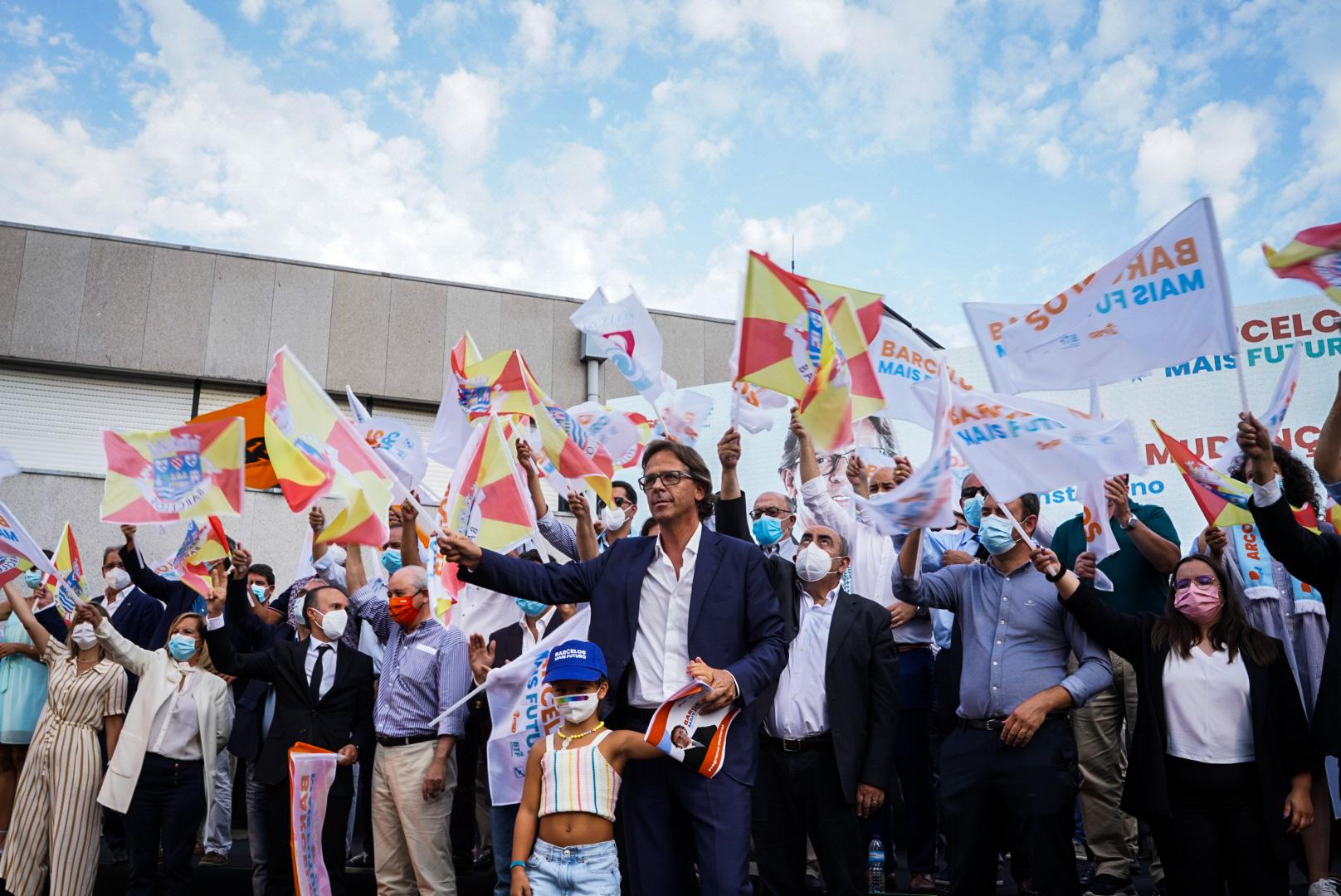 Autárquicas. Coligação 'Barcelos Mais Futuro' de Mário Constantino apresenta prioridades