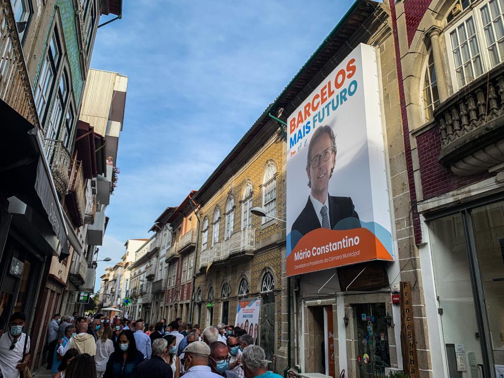 Autárquicas. Coligação Barcelos Mais Futuro inaugura sede e apresenta programa eleitoral