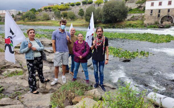 """Autárquicas. MAS acusa PS e PSD de Barcelos de entregar rio Cávado a fundo """"abutre de capitais"""""""