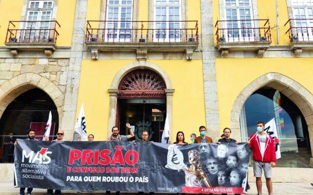 """Autárquicas. MAS protesta contra """"negócio ruinoso"""" da água que dava para """"três novos"""" hospitais em Barcelos"""