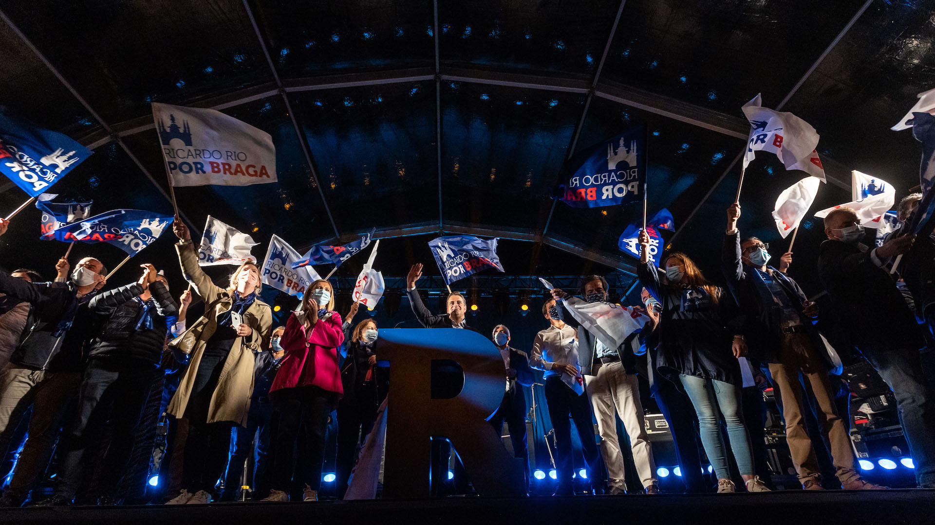 """Autárquicas. Não se ganha com sondagens. É com os votos"""", avisa Ricardo Rio em Braga"""