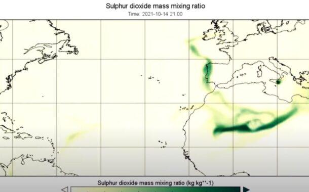 Nuvem de gás toxico do vulcão de Las Palmas atinge Minho esta quinta-feira (c/vídeo)